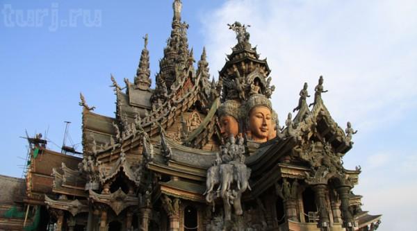 Святилище Истины e1383904135319 Паттайя. Таиланд.