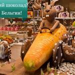 Где лучший шоколад? Конечно в Бельгии!