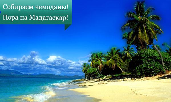 madagaskar Собираем чемоданы! Пора на Мадагаскар!